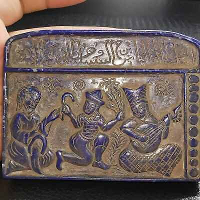 Sultan Mehmood Ghaznawi Ancient Lapis lazuli stone Tablet with Writing Tablet