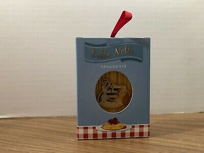 2019 Disney Parks Holiday Gifting Pin Lady & The Tramp Spaghetti Box NEW