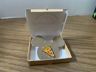 2019 Disney Parks Holiday Gifting Pin Mickey Pizza Slice In Pizza Box