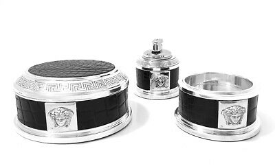 Spectacular Sterling Silver 925 Gianni Versace Smoker's Compendium