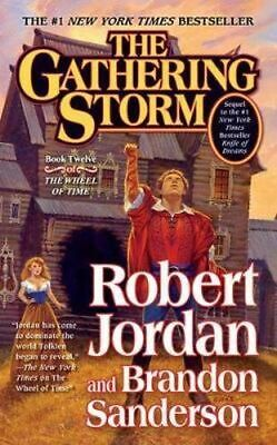 NEW The Gathering Storm By Robert Jordan Paperback Free Shipping