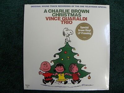 Rare A Charlie Brown Christmas Vince Guaraldi Green Vinyl New Sealed LP