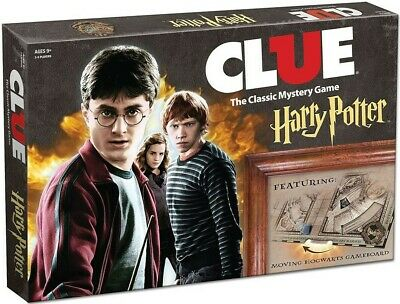 Clue: Classic Mystery Game - Harry Potter USAopoly BRAND NEW ABUGames