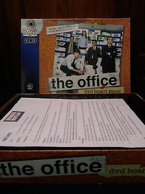 2008 The Office DVD TV Trivia Board Game by Pressman NBC never played DVD sealed