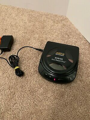 Alera Tech. 240121 Digital Video DVD/CD Compact Scratch Repair/Disc Cleaner