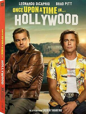 Once Upon a Time in Hollywood (DVD 2019) NEW <<PRE-ORDER>>  12/10/2019