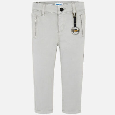 New Mayoral Boys slim fit chinos with keyring, Age 2 years (4516)