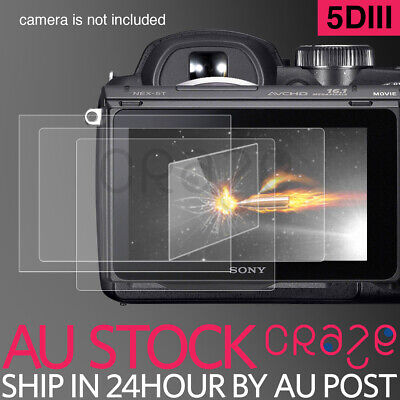 Pro Tempered Glass Screen Protector for Canon EOS 5D Mark III MK 5D3