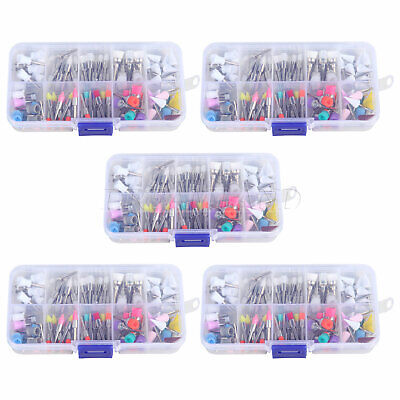 5box Dental Prophy Brush Cup Rubber Disposable Polishing Latch Mixed Color UK-2