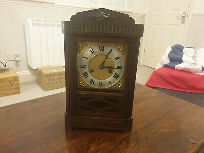 Vintage H A C wall clock made in Wurttemburg Germany