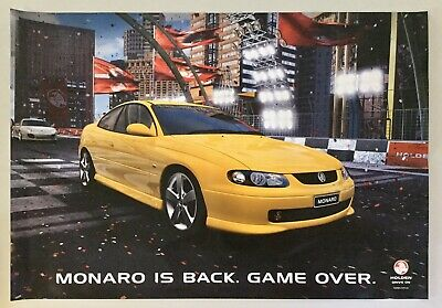 Holden Monaro Is Back, Game Over, Large Dealer Poster