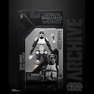 Star Wars Hasbro The Black Series Archive Scout Troper