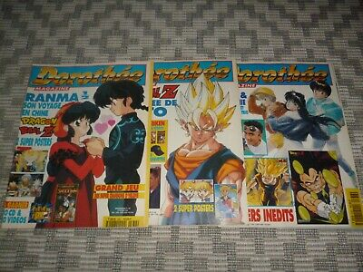Lot 3 magazines CLUB DOROTHÉE, No 336, 338, 339, DRAGON BALL Z, SAILOR MOON...