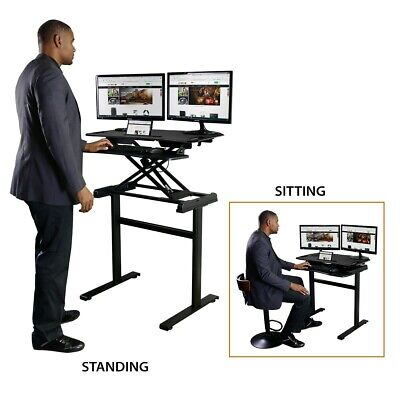 Boost Industries Sit to Stand Desk/Workstation (STS-FS38C)