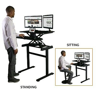 Boost Industries Motorized Sit to Stand Height Adjustable Desk (STS-FS35M)