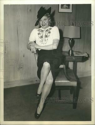 1940 Press Photo Mrs.Sonia Clive filed separation from from Artist Henry Clive