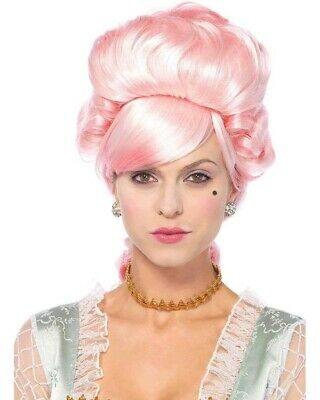 Marie Antoinette Pink Wig One Size