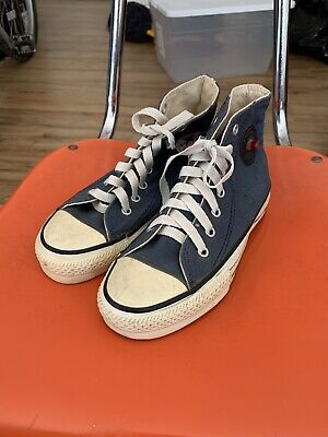 Vintage Converse All Star Chuck Taylor KOOSH Shoes Kids Size 1 Made In USA