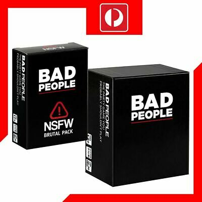 Bad People - The Party Game You Probably Shouldnt Play Core & NSFW Game Pack