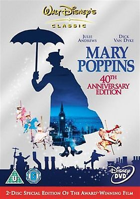 MARY POPPINS 2 DISC - 2005 Julie Andrews, Dick Van Dyke NEW AND SEALED UK R2 DVD