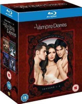 Vampire Diaries - Complete 16 Disc Box Set Collection Extra Brand New UK Blu Ray