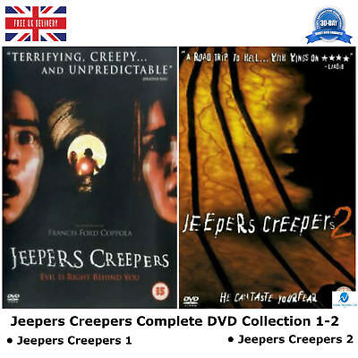 Jeepers Creepers Series 1 - 2 Complete DVD Collection 1 - 2 NEW SEALED UK R2 DVD