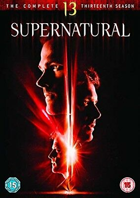 Supernatural - Season 13 Complete Series Thirteen Phil Sgriccia New Region 2 DVD