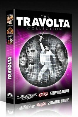 The Travolta Collection Grease,Saturday Night Fever, Staying Alive New UK R2 DVD