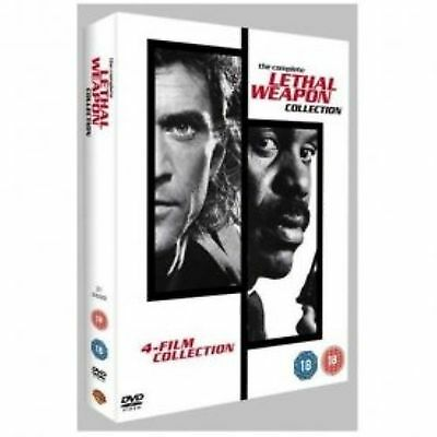 Lethal Weapon - Complete Collection 1 2 3 4 Brand New and Sealed UK Region 2 DVD