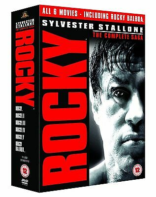 Rocky - The Complete Saga Sylvester Stallone, Burgess Meredith New Region 2 DVD