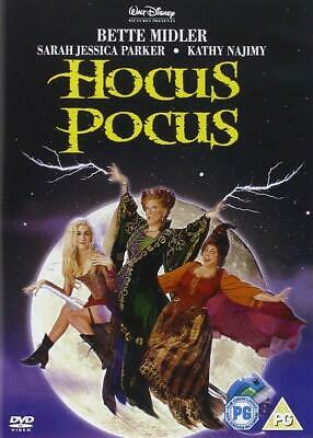 Hocus Pocus - Bette Midler, Sarah Jessica,Kenny Ortega Brand New UK Region 2 DVD