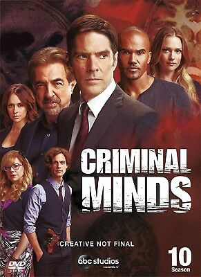 CRIMINAL MINDS -Series 10 Complete All 10th Tenth Season New Sealed Region 2 DVD