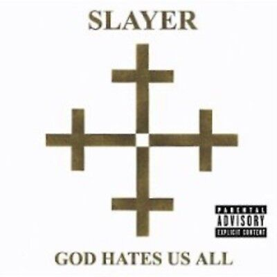 God Hates Us All - Slayer Brand New and Sealed Music Audio CD By SLAYER