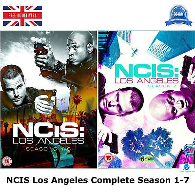 NCIS Los Angeles Complete Season 1 - 7 Complete Collection 1 2 3 4 5 6 7 NEW DVD