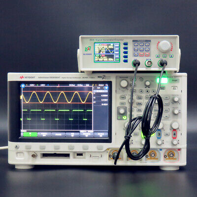 DDS Function Signal Generator Frequency Counter Sine Square Wave QLS2800-5M