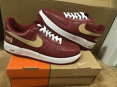 2003 OG DS Nike Air Force 1 One LBJ LeBron James Crimson