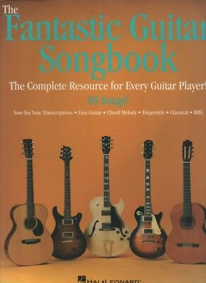 "Music book. ""Fantastic Guitar Songbook"" Hal Leonard. 85 songs, 240 pages big!"