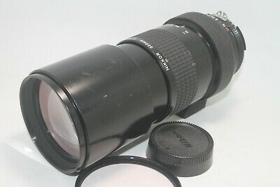 Nikon Ai Nikkor 300mm f/4.5 Manual Focus Telephoto Lens [ AS-IS ] From JAPAN F/S