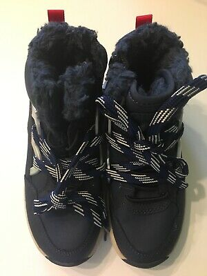 Zara Kids footwear Navy Blue  Boys winter shoes size UK 13