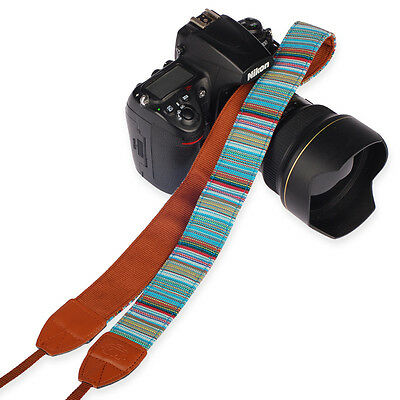 Cool #L Camera Shoulder Neck Belt Strap For SLR DSLR Canon Nikon Sony Panasonic