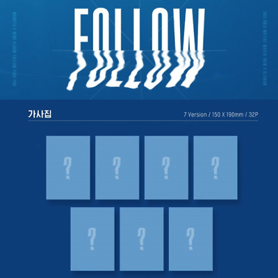 Monsta X - Follow-Find You Lyrics Book Wonho Kihyun Shownu I.m Joohoney Minhyuk