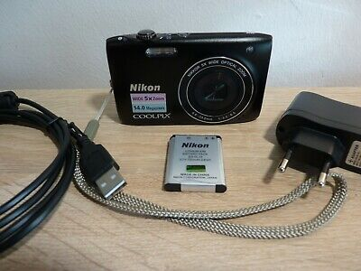 Nikon Coolpix S3100 - 14 MP - 5x Zoom - HD Movie - Top Zustand