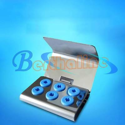 Dental Ultrasonic Scaler Tips Holder Stand w/ Cover