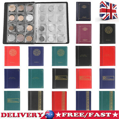 420 Album Coin Penny Money Storage Book Case Holder Folder Collection Collecting