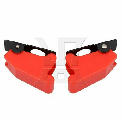 2pcs 12mm Plastic Toggle Switch Cover Cap Protector Red