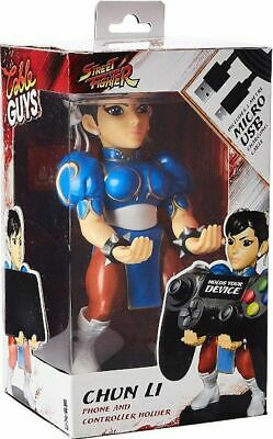 """Chun Li Street Fighter - Cable Guy 8"""" PS4 / Xbox One Controller, Phone Holder"""