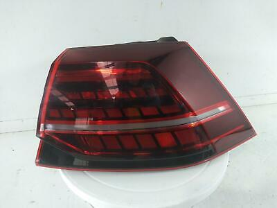 2018 VOLKSWAGEN GOLF Mk7 3Dr Hatch Rear Outer LED Taillight OS Right Drivers 060