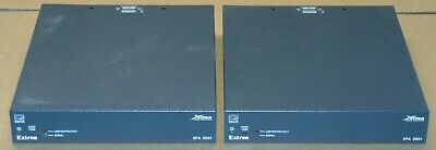 Lot of 2x Extron XPA 2001-70V Power Amplifiers with Power Cords