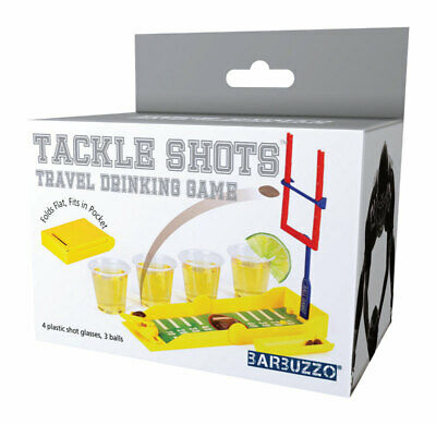 Barbuzzo  Tackle Shots  Adult Beverage Game  Plastic  1 pk