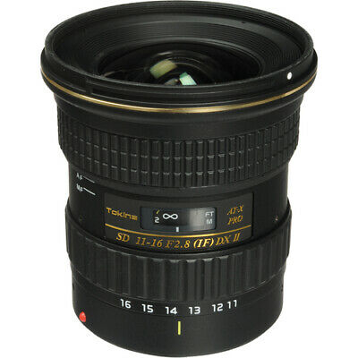 Tokina AT X 116 PRO DX II Wide-Angle Zoom Lens for Nikon F - 11mm-16mm - F/2.8